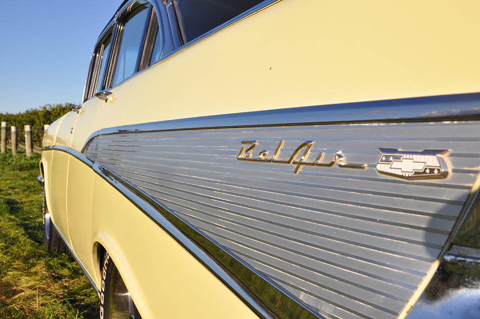Explore the Marlborough region in our fantastic '57 Chevy Bel Air with that V8 rumble!